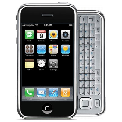 iPhone Slider-out Keyboard