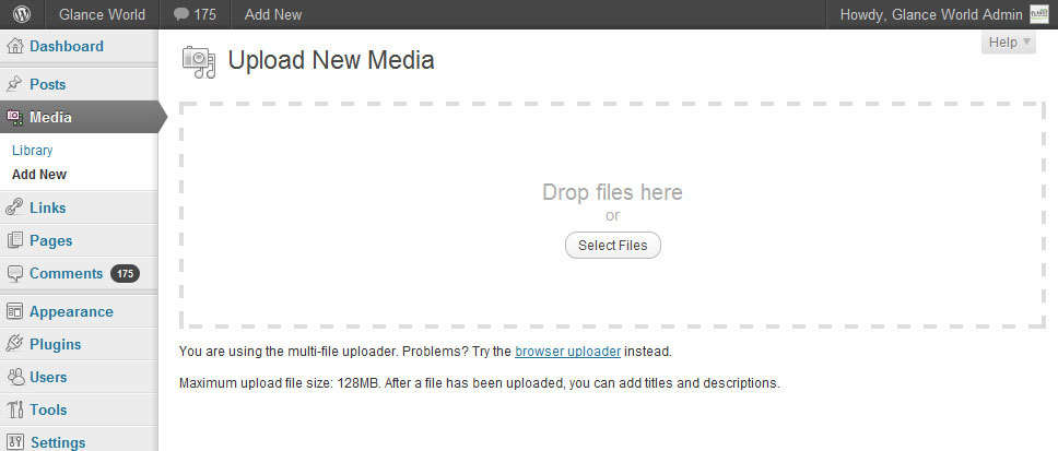 WordPress 3.3 Media Uploader