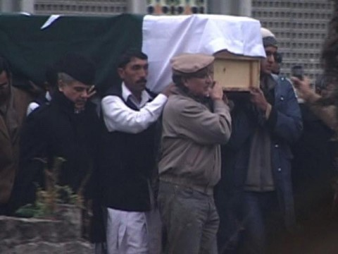 Funeral Prayer of Arfa Karim