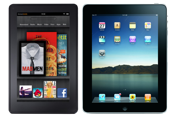 RUMOR: Apple Developing Smaller iPad and Amazon Works on a Bigger Kindle Fire