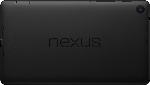 Nexus 7 Back Side