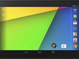 Nexus 7 Front Side