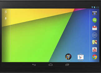 Nexus 7 Front Side