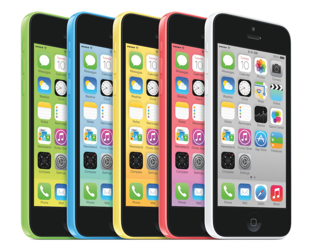 Apple announces low-cost iPhone 5C in 5 Colors