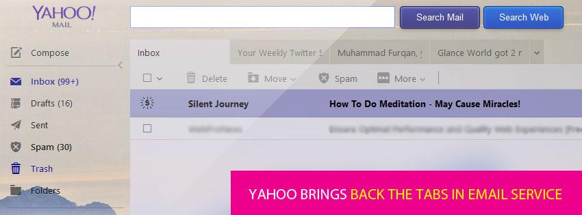 Yahoo Mail Tabs