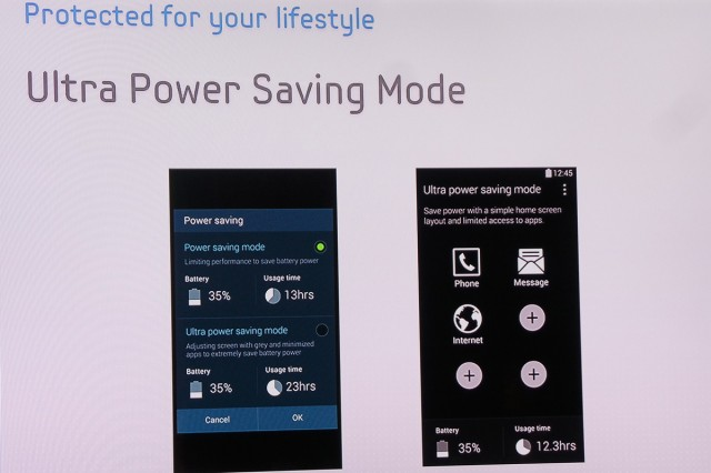 Galaxy S5 Ultra Power Saving mode