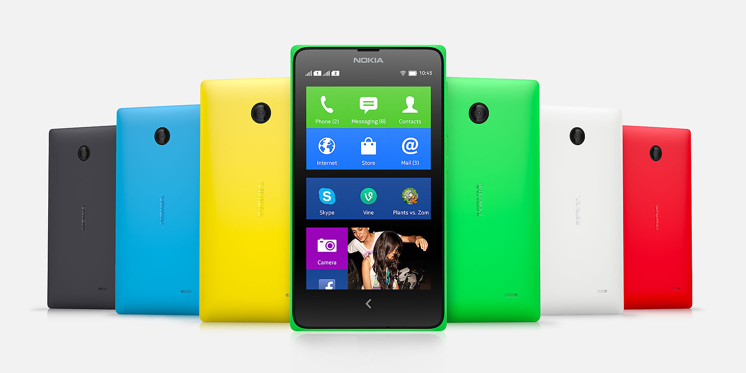 Nokia unveiled a trio of Android platform phones