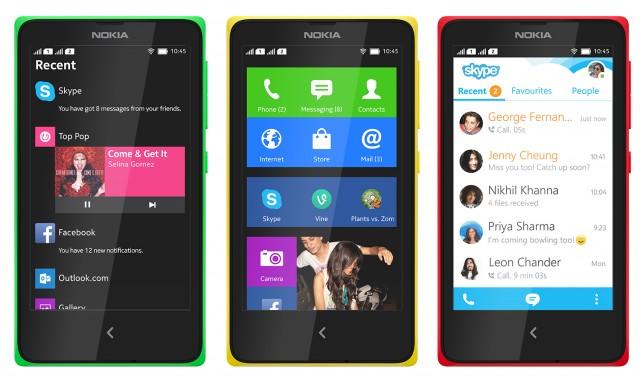 Nokia X Range