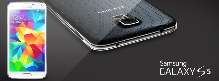 Samsung unveiled Galaxy S5; 5.1 inch Screen, 2.5 Ghz, 16 MP Camera, Fingerprint scanner and more