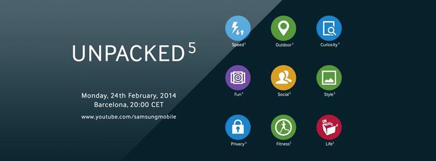 Samsung Unpacked 5 Event