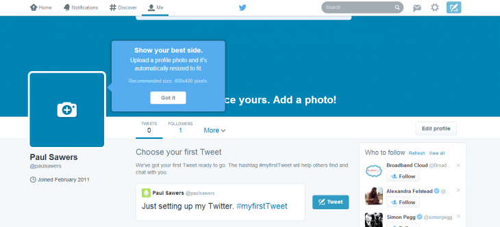 Twitter rolls out a brand new look of the user profile