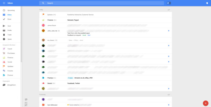 Gmail New Interface