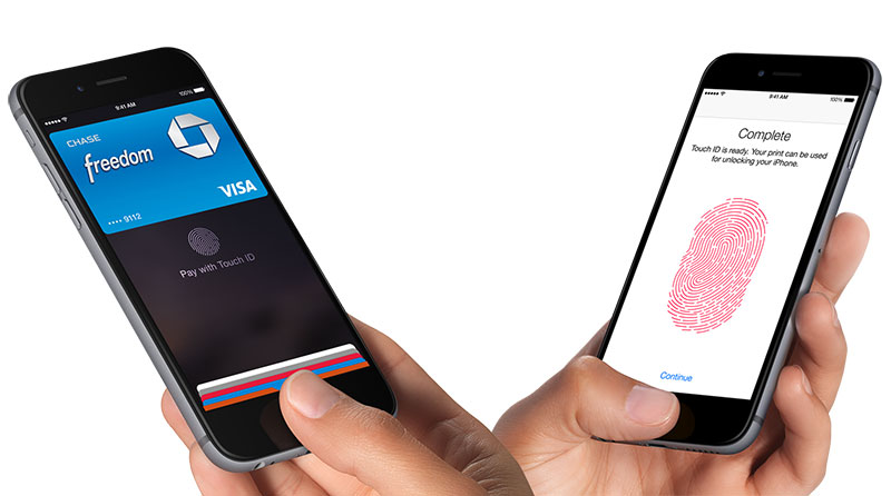 Apple Pay and Touch ID