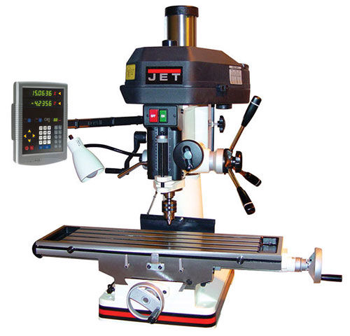 CNC machine drills