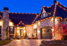 Holiday Lights and Decorations on Your Roof