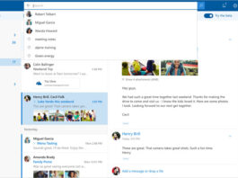 Outlook.com Beta Interface