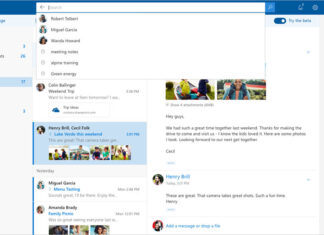 Outlook.com Beta Interface