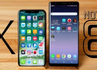 iPhone X better than Samsung Galaxy Note 8